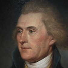 Thomas Jefferson portrait: Image by Wikimedia Commons Public Domain