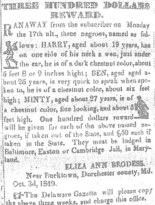 600px-Harriet_Tubman_Reward_Notice_1849